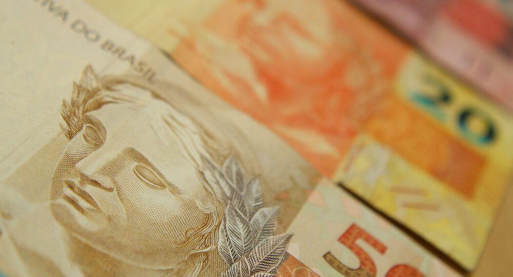 Notas de reais, a moeda brasileira (foto referencial)
