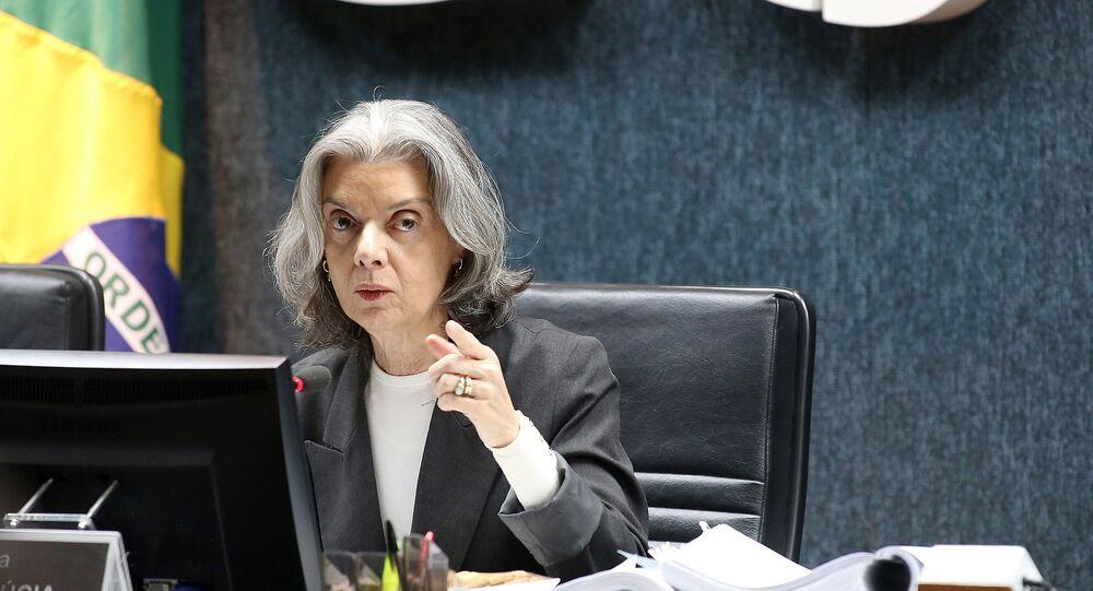 A presidente do Supremo Tribunal Federal (STF), Cármen Lúcia.