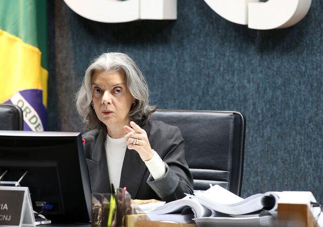 A ministra do Supremo Tribunal Federal (STF), Cármen Lúcia.