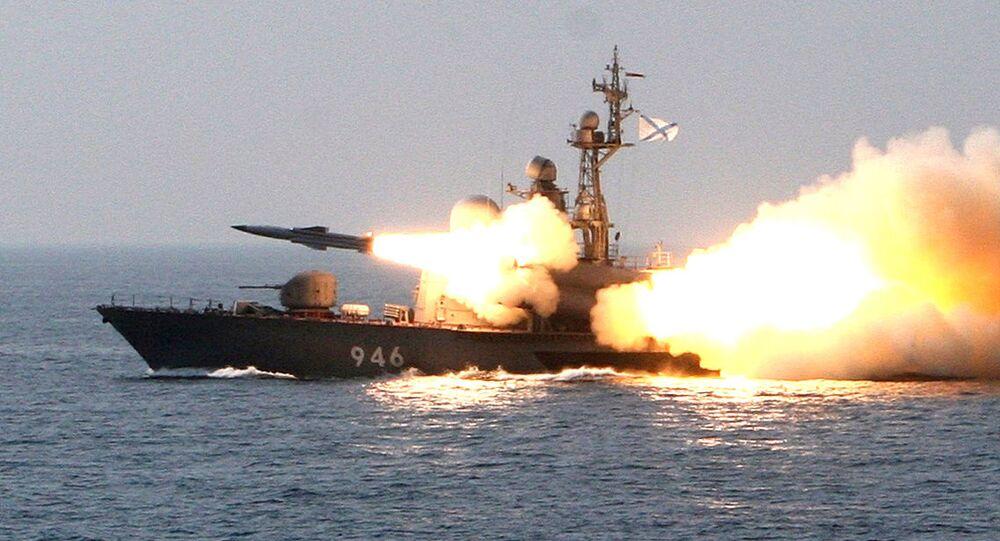 Lançamento de um míssil hipersônico russo
