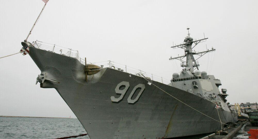 Destróier norte-americano USS Chafee