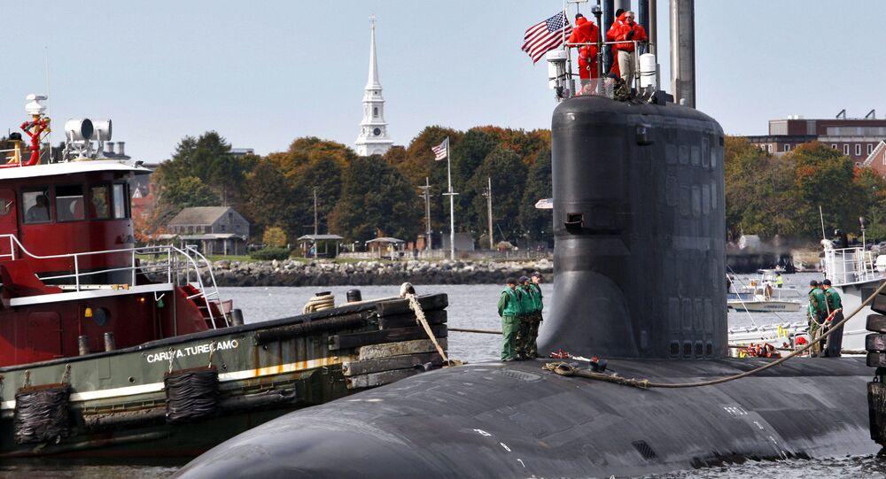 Submarino USS New Hampshire, um dos modelos de classe Virginia da Marinha dos EUA