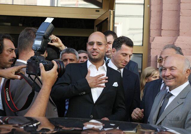 O segundo filho de Muammar Gaddafi, Seif Islam