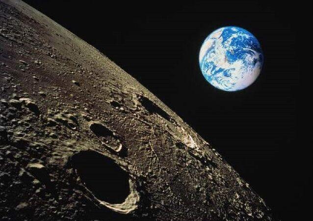 Lua e Terra (imagem referencial)