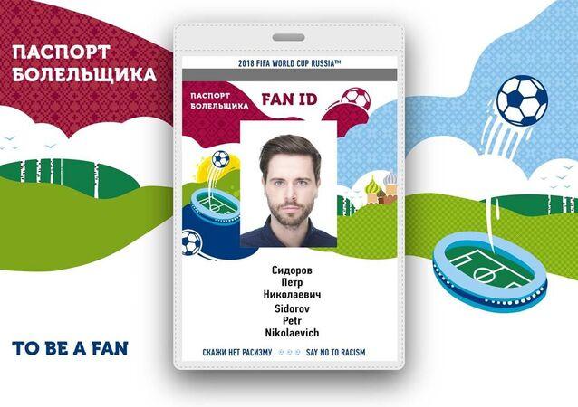 Novo passaporte do torcedor para a Copa do Mundo 2018 na Rússia