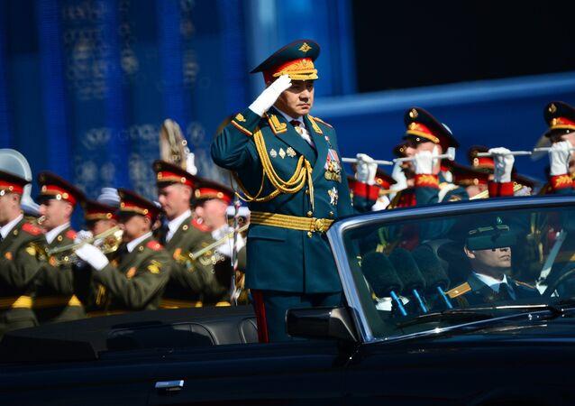 O ministro da Defesa, Sergei Shoigu