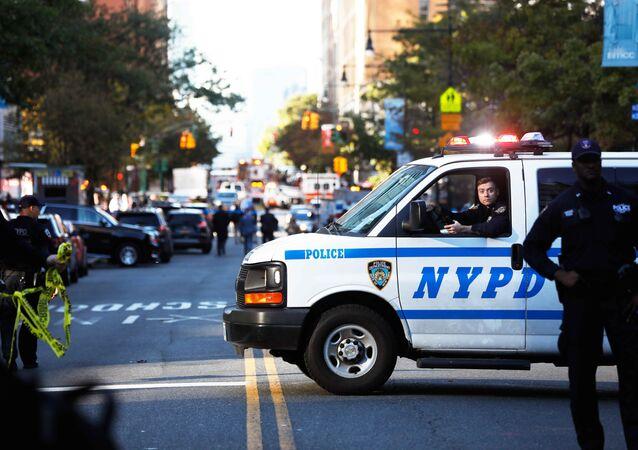 Polícia americana barra acesso a local de atentado em Nova York