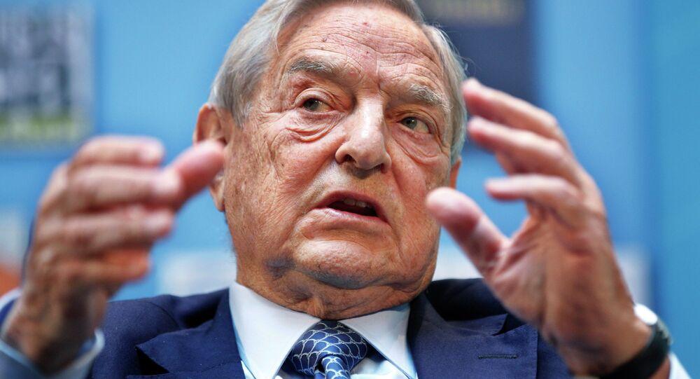 Financista bilionário George Soros (foto de arquivo)