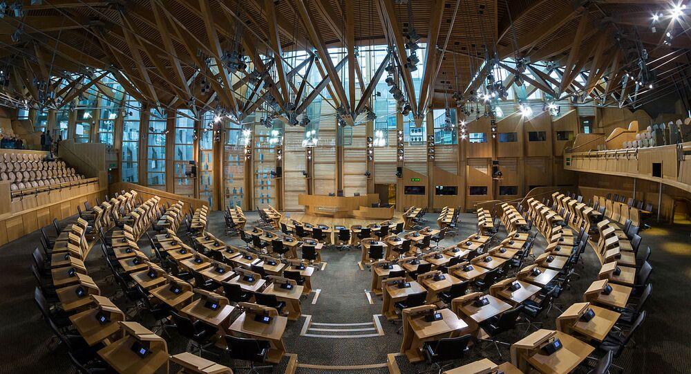 Parlamento escocês (foto de arquivo)