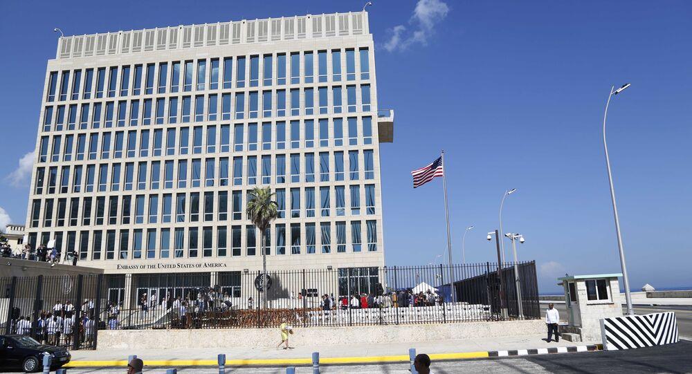 Embaixada dos EUA em Cuba (foto de arquivo)