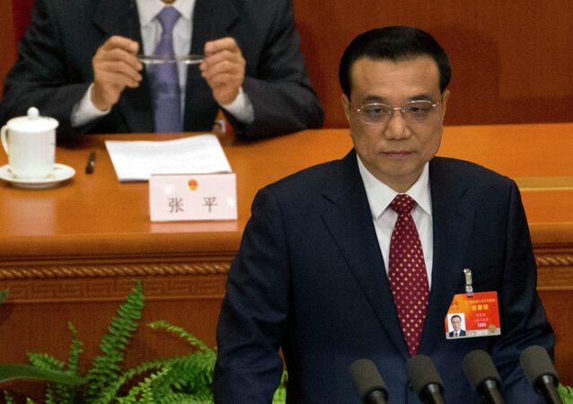 Premier chinês, Li Keqiang
