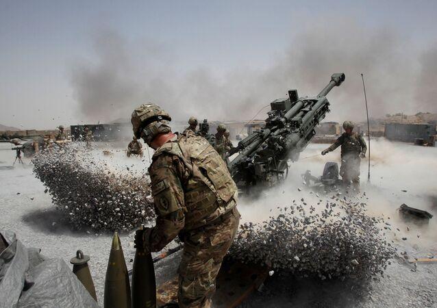 Soldados dos EUA no Afeganistão, foto de arquivo