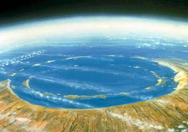 Cratera de Chicxulub no México