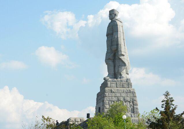 Alyosha, monument to Soviet warriors liberators, Plovdiv. File photo