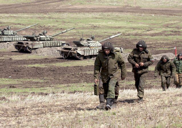 Mílicia da república autoproclamada de Lugansk