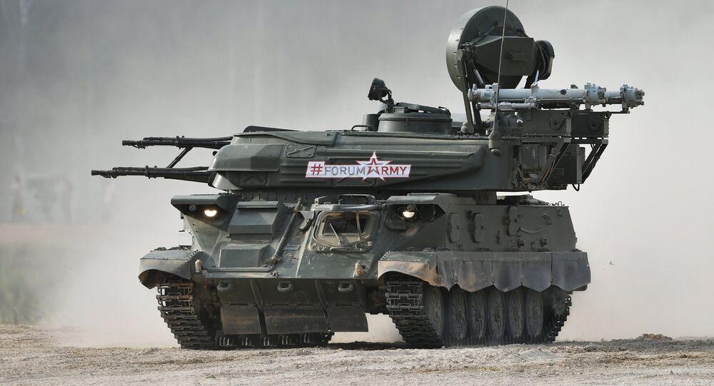 Sistema antiaéreo autopropulsado russo Shilka