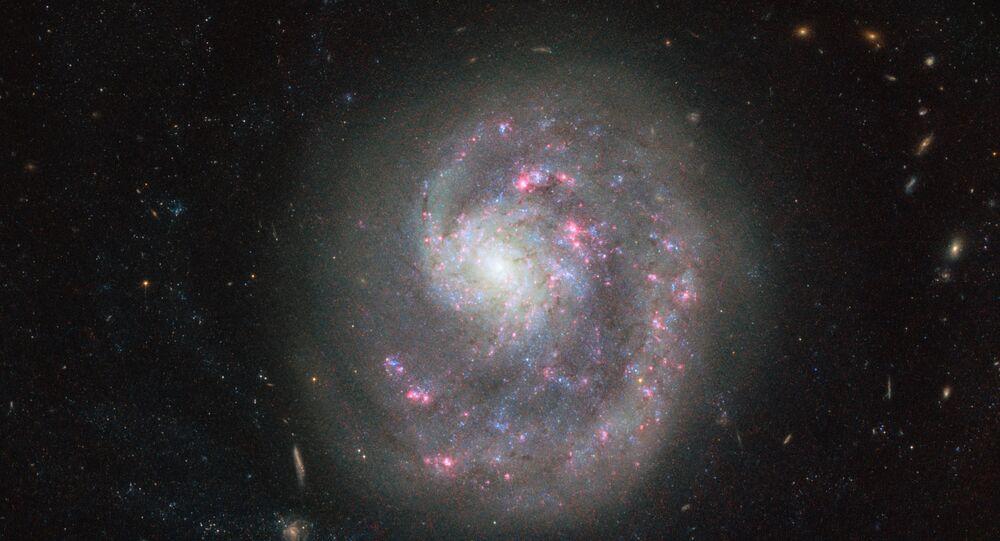 A galáxia NGC 4625 (imagem referencial)