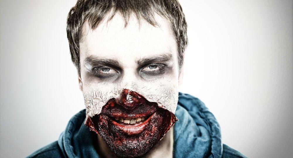 Maquiagem de zumbi (imagem ilustrativa)